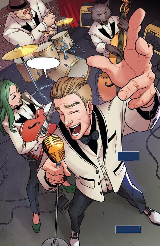 Swingin' Stevie Rogers' Band (Earth-61610)