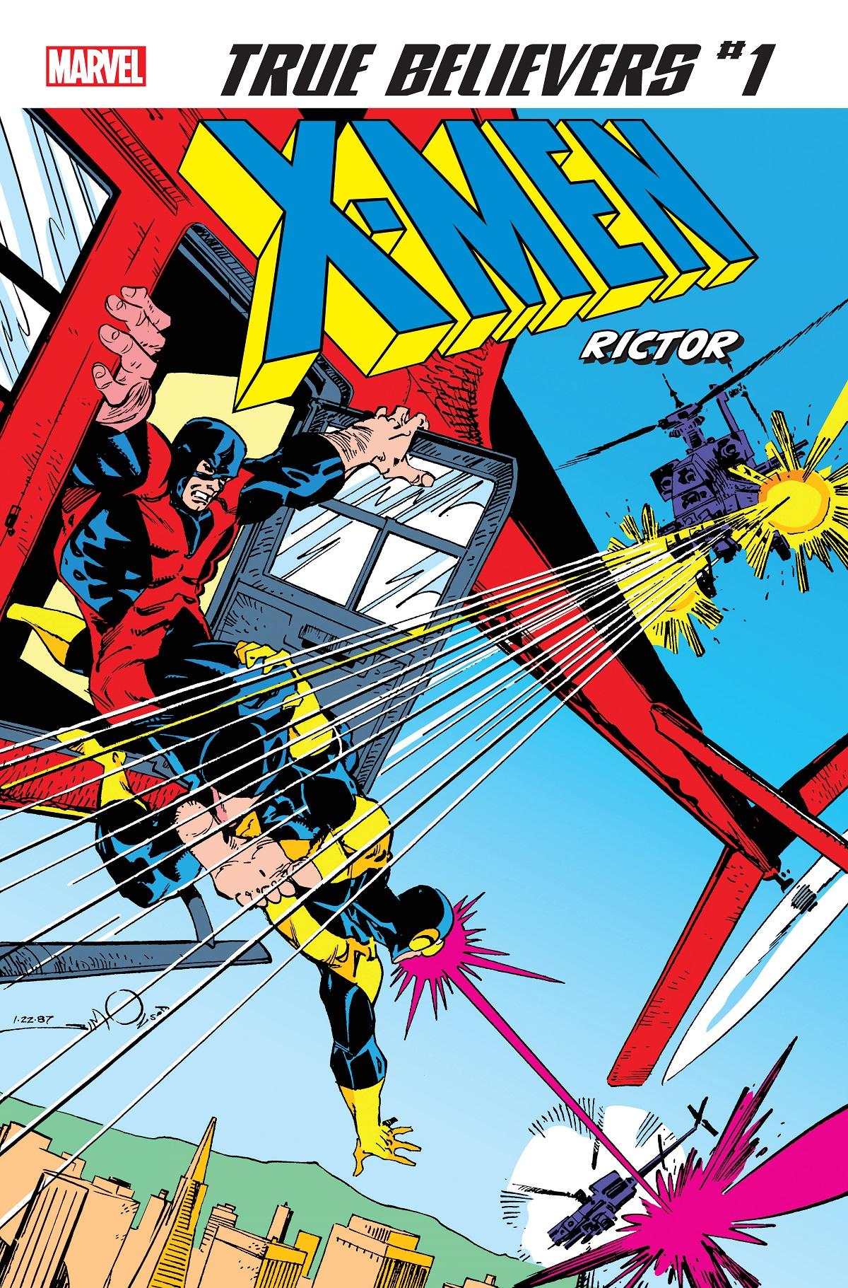 True Believers: X-Men - Rictor Vol 1 1
