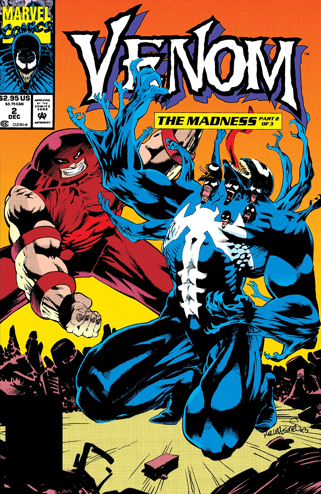 Venom: The Madness Vol 1 2