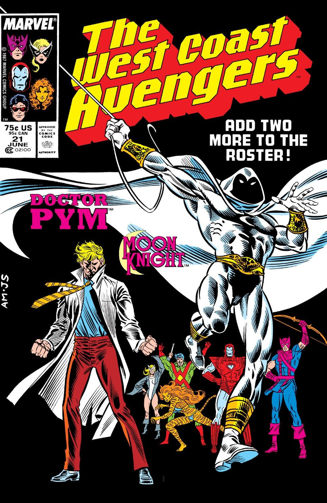 West Coast Avengers Vol 2 21