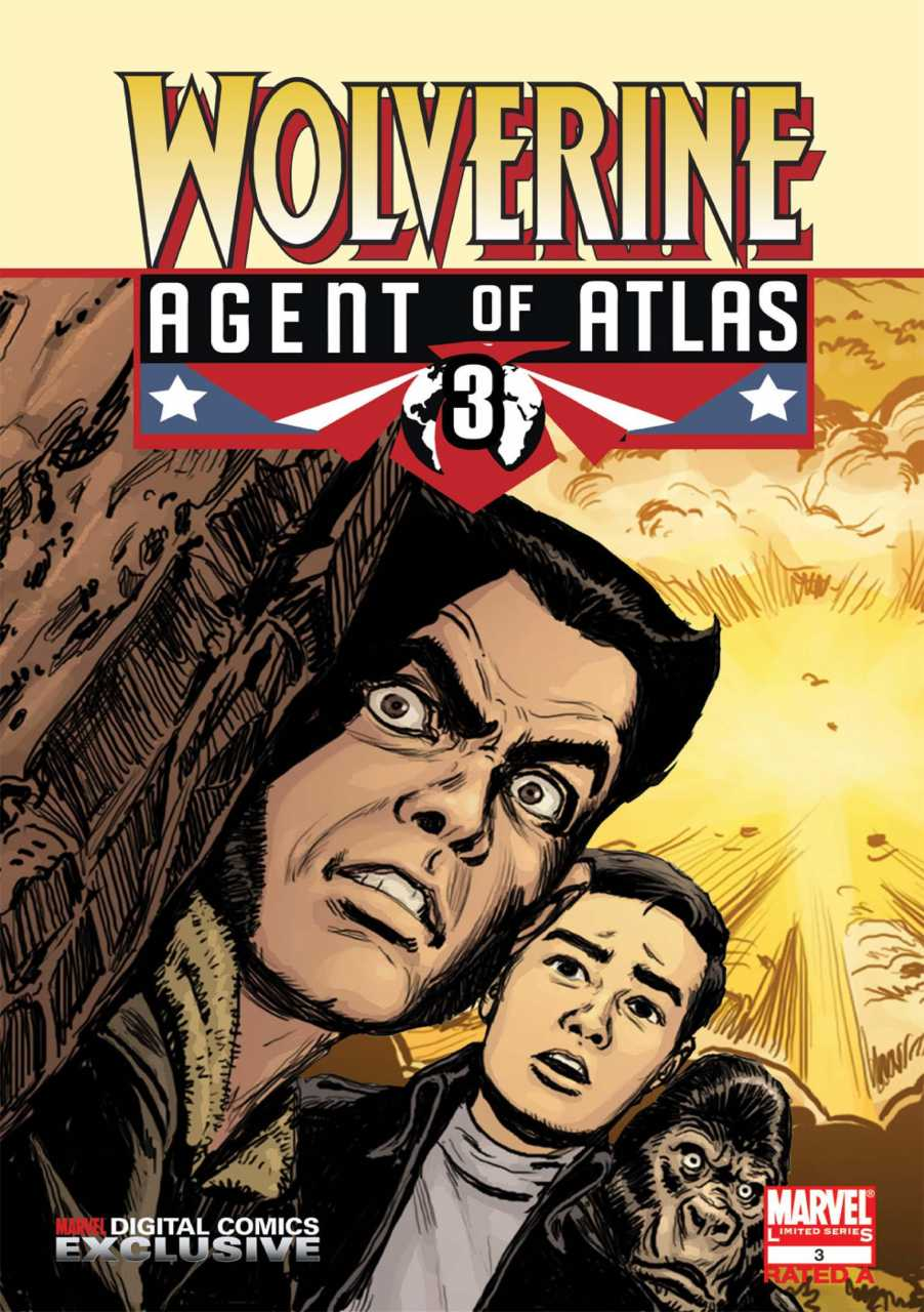 Wolverine: Agent of Atlas Vol 1 3