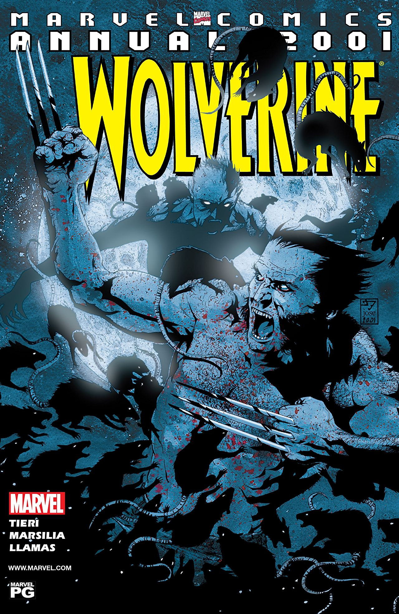 Wolverine Annual Vol 1 2001