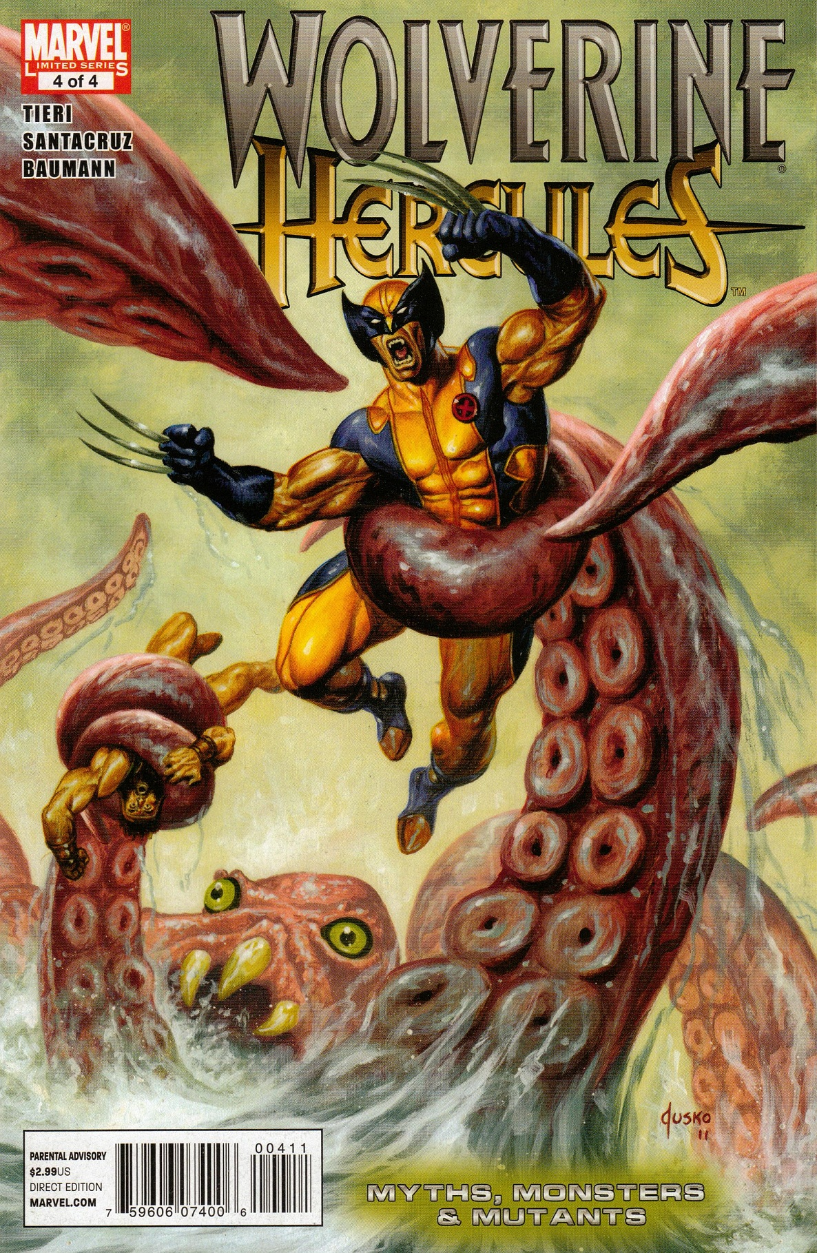 Wolverine/Hercules: Myths, Monsters & Mutants Vol 1 4