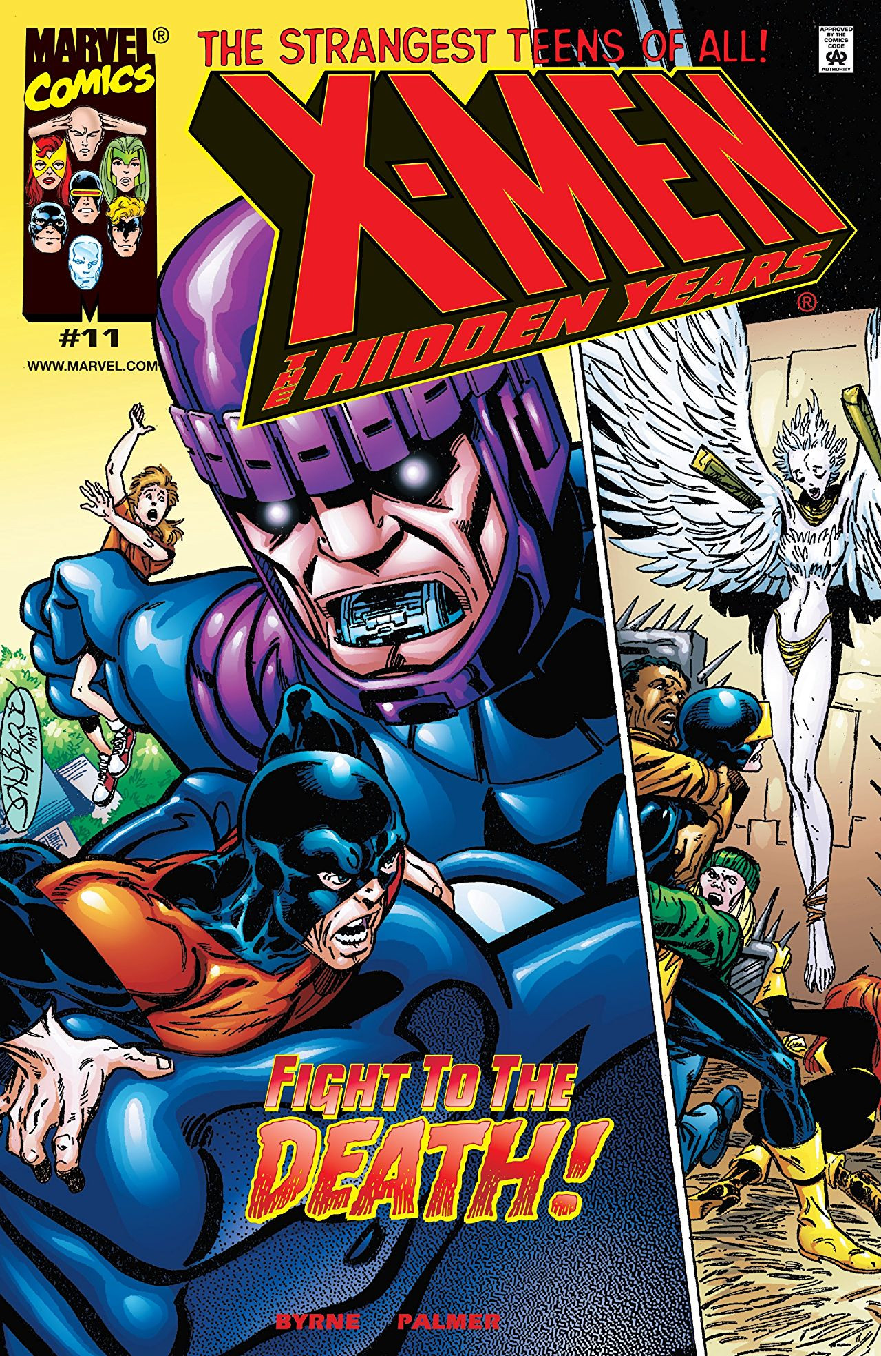 X-Men: The Hidden Years Vol 1 11