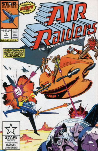 Air Raiders Vol 1 1