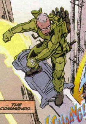 Commando (Earth-928)