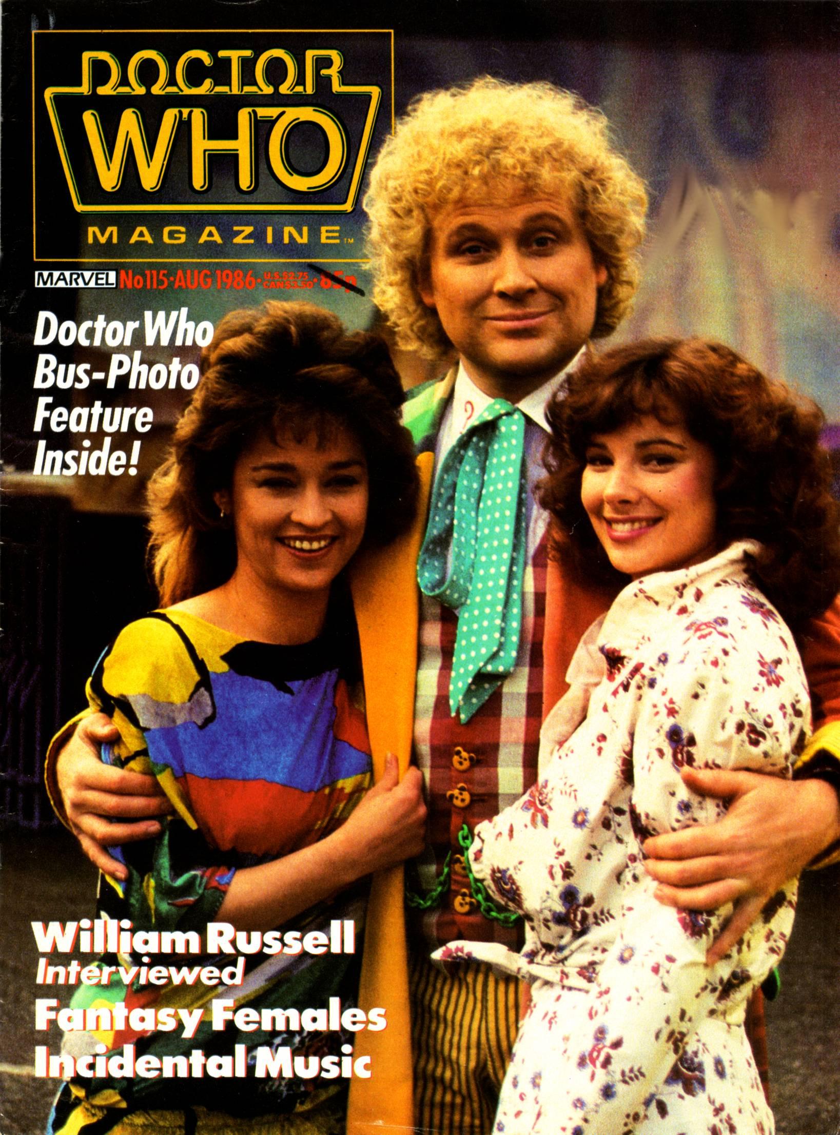 Doctor Who Magazine Vol 1 115
