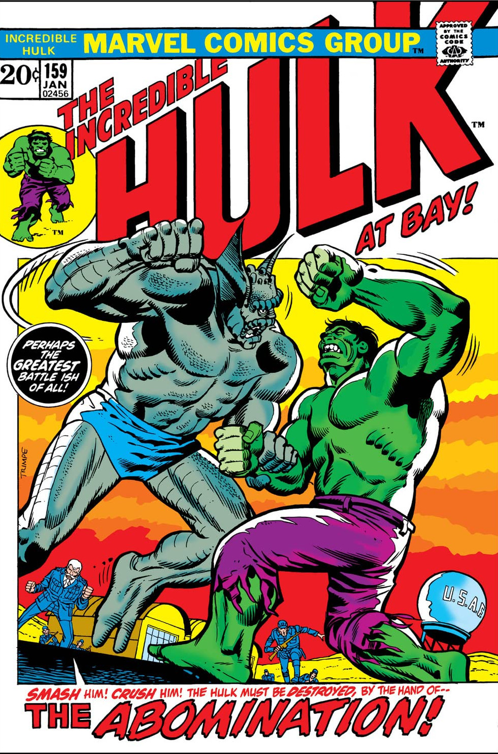 Incredible Hulk Vol 1 159