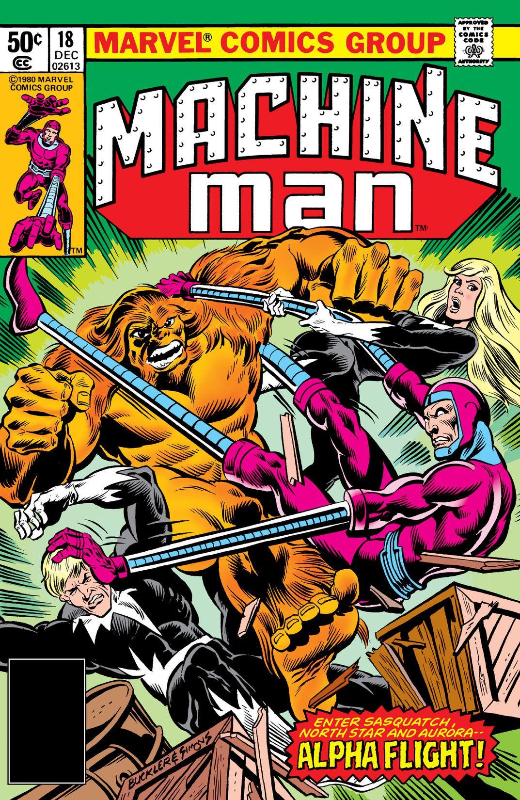 Machine Man Vol 1 18