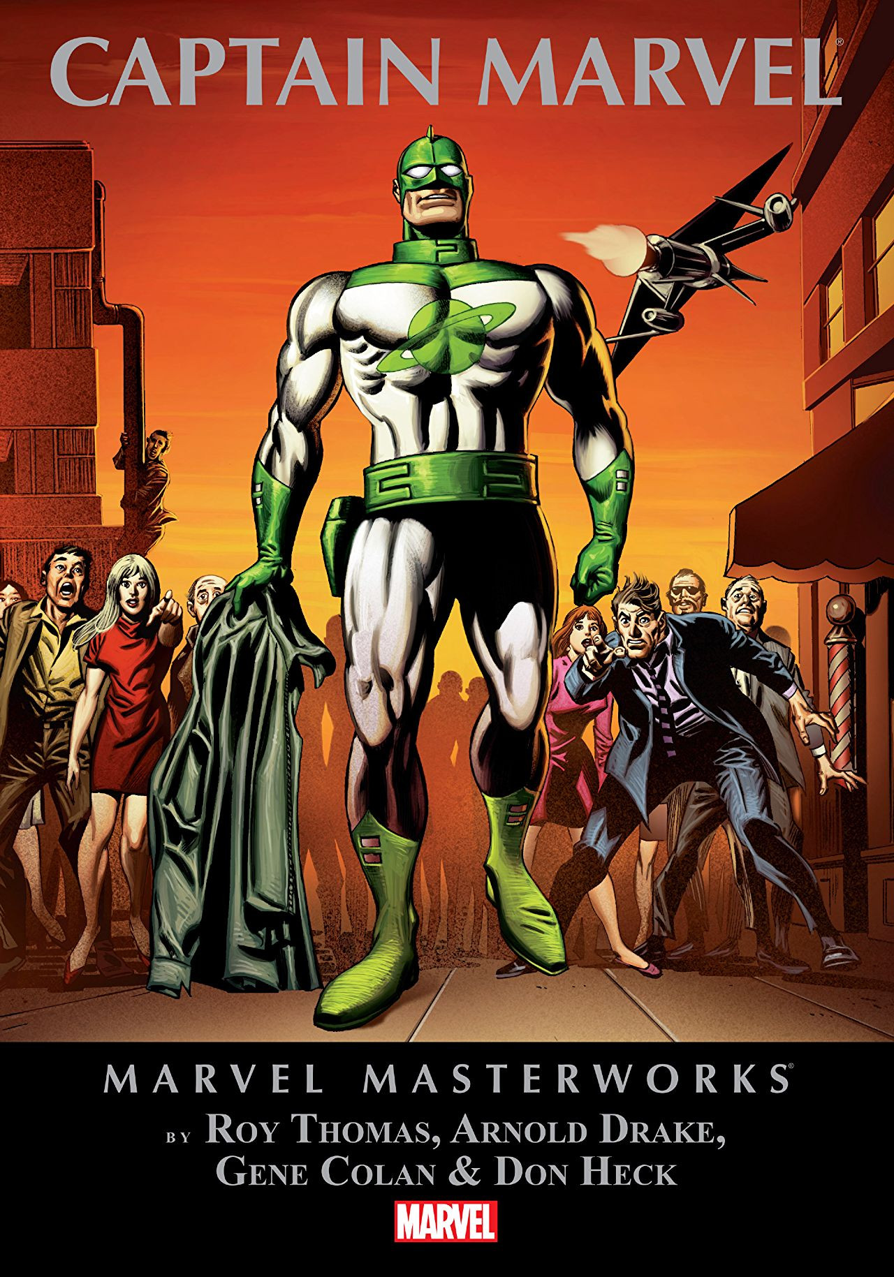 Marvel Masterworks: Captain Marvel Vol 1 1