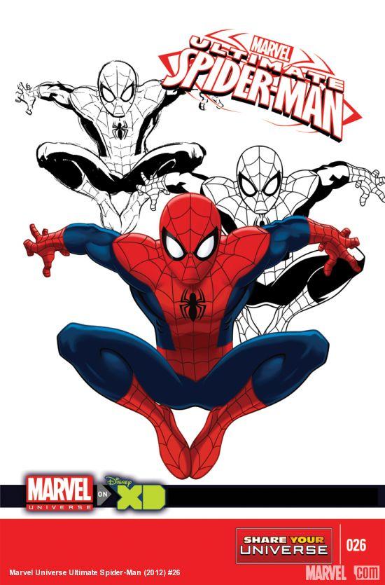Marvel Universe: Ultimate Spider-Man Vol 1 26