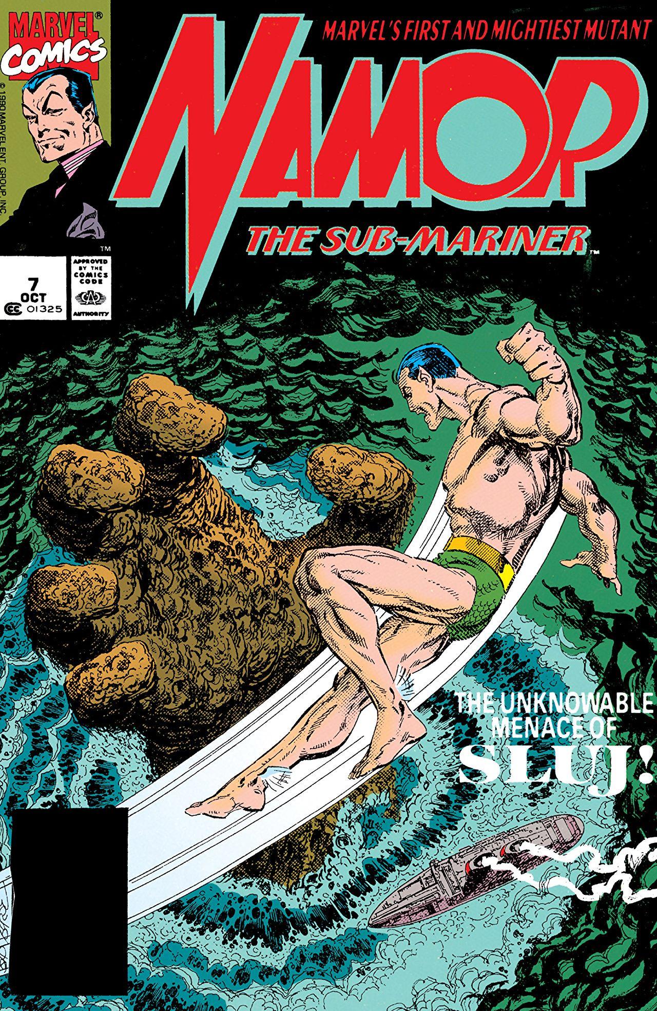 Namor the Sub-Mariner Vol 1 7