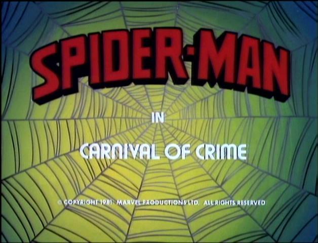 Spider-Man (1981 animated series) Season 1 9