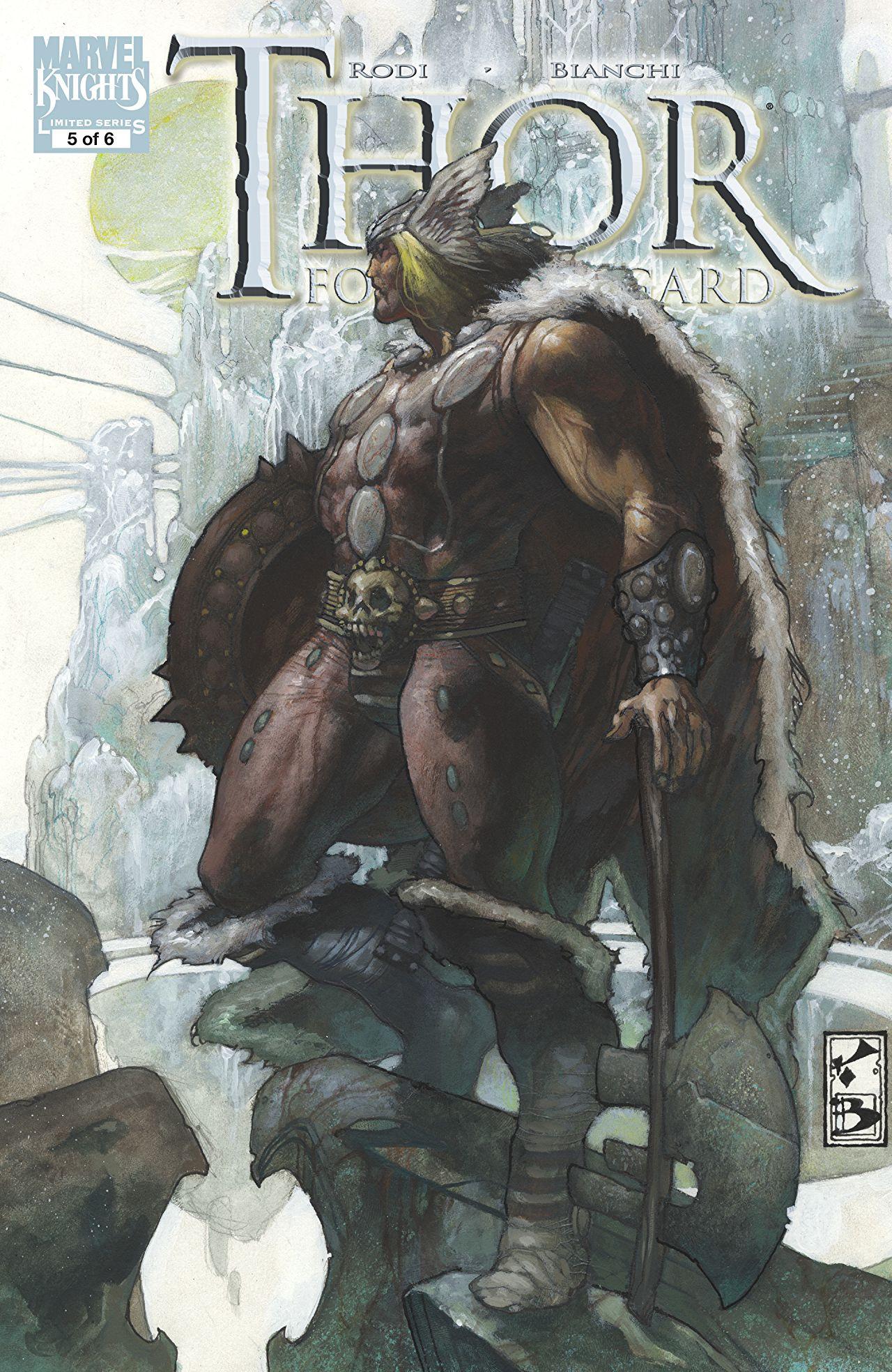 Thor: For Asgard Vol 1 5