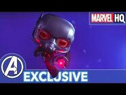 Ant-Man's Robot Rumble! - Marvel Funko Presents- Big Robot Little Problem (stars Ant-Man, Ultron)