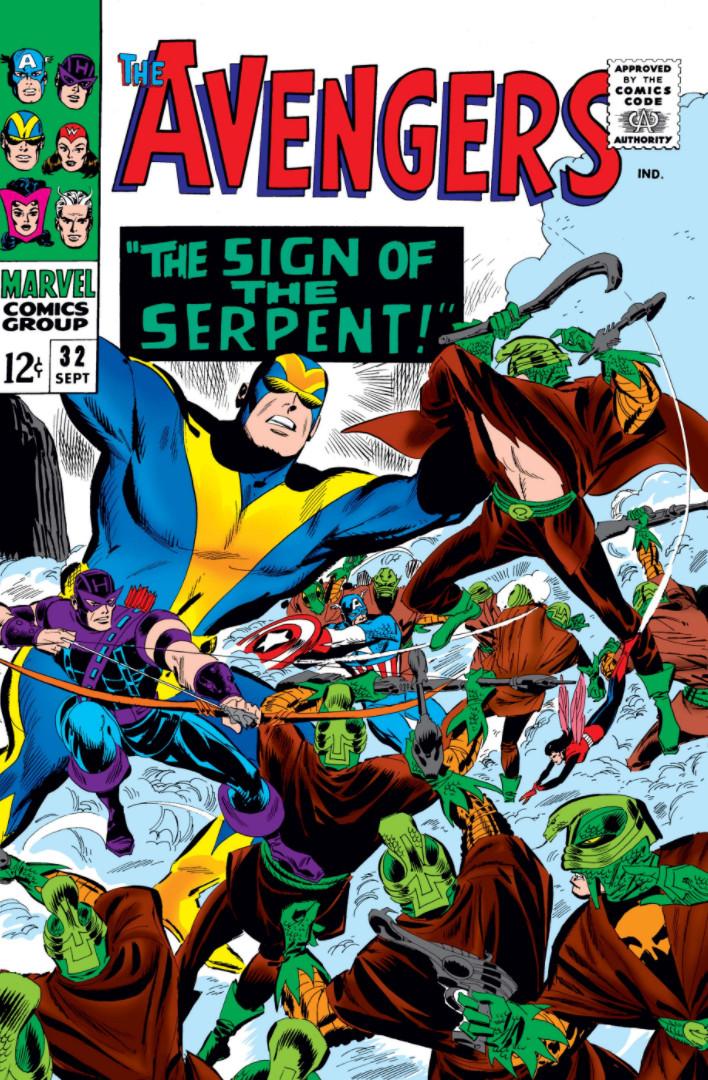 Avengers Vol 1 32