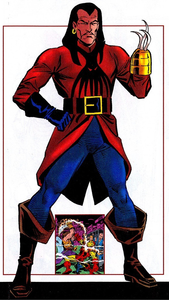 Commander Kraken (Earth-616)