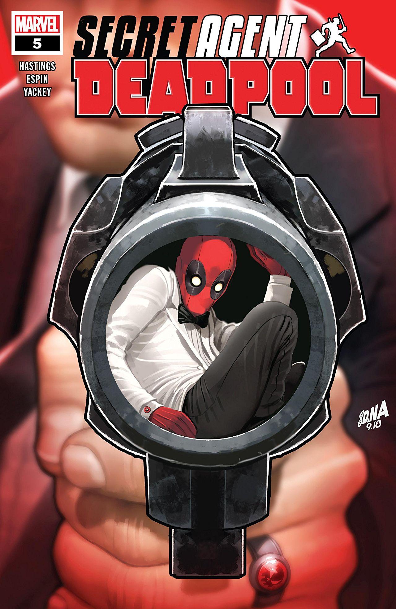 Deadpool: Secret Agent Deadpool Vol 1 5