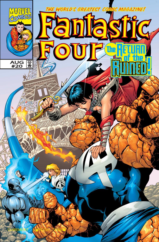 Fantastic Four Vol 3 20