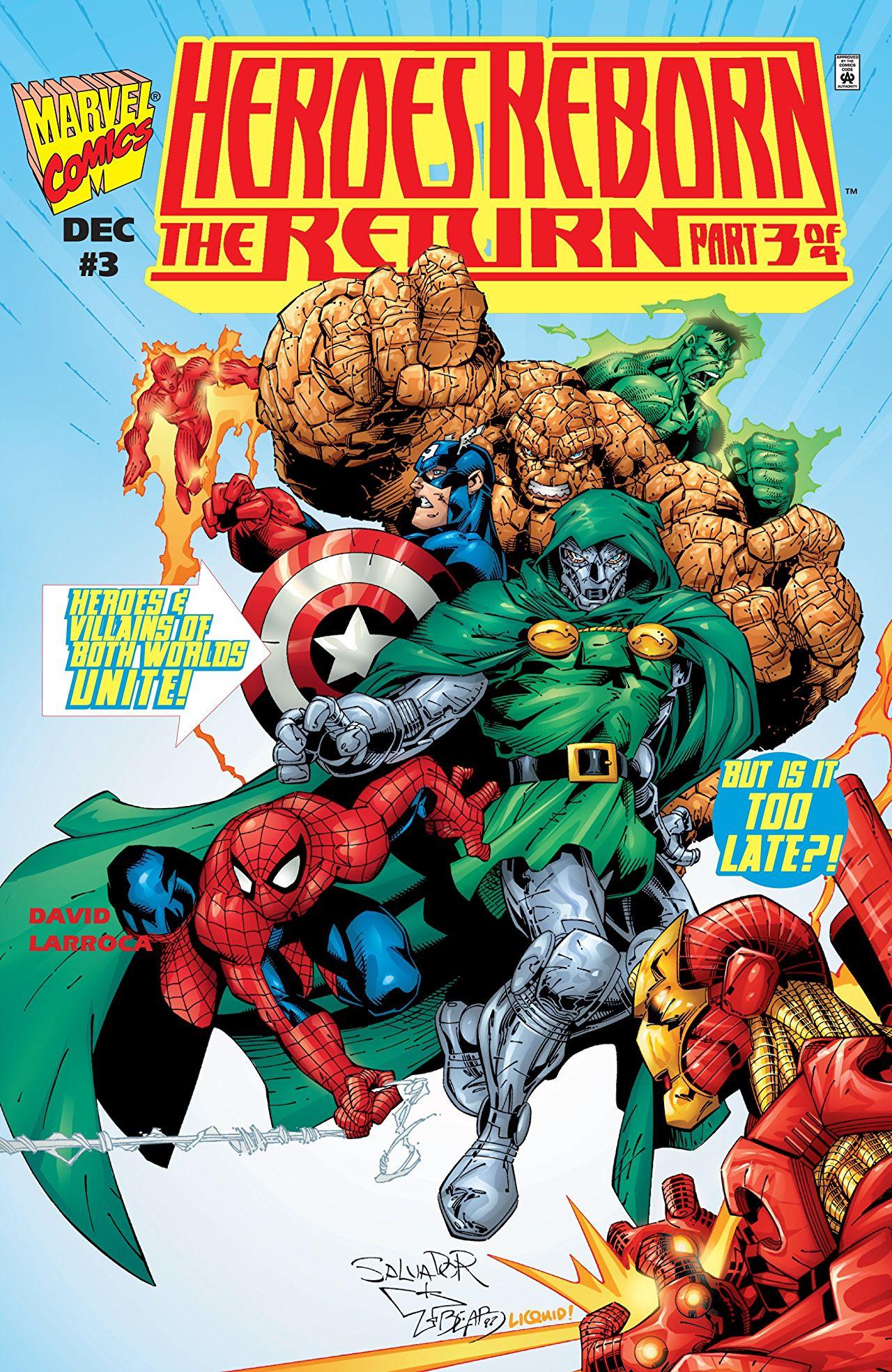 Heroes Reborn: The Return Vol 1 3