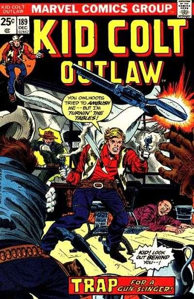 Kid Colt Outlaw Vol 1 189