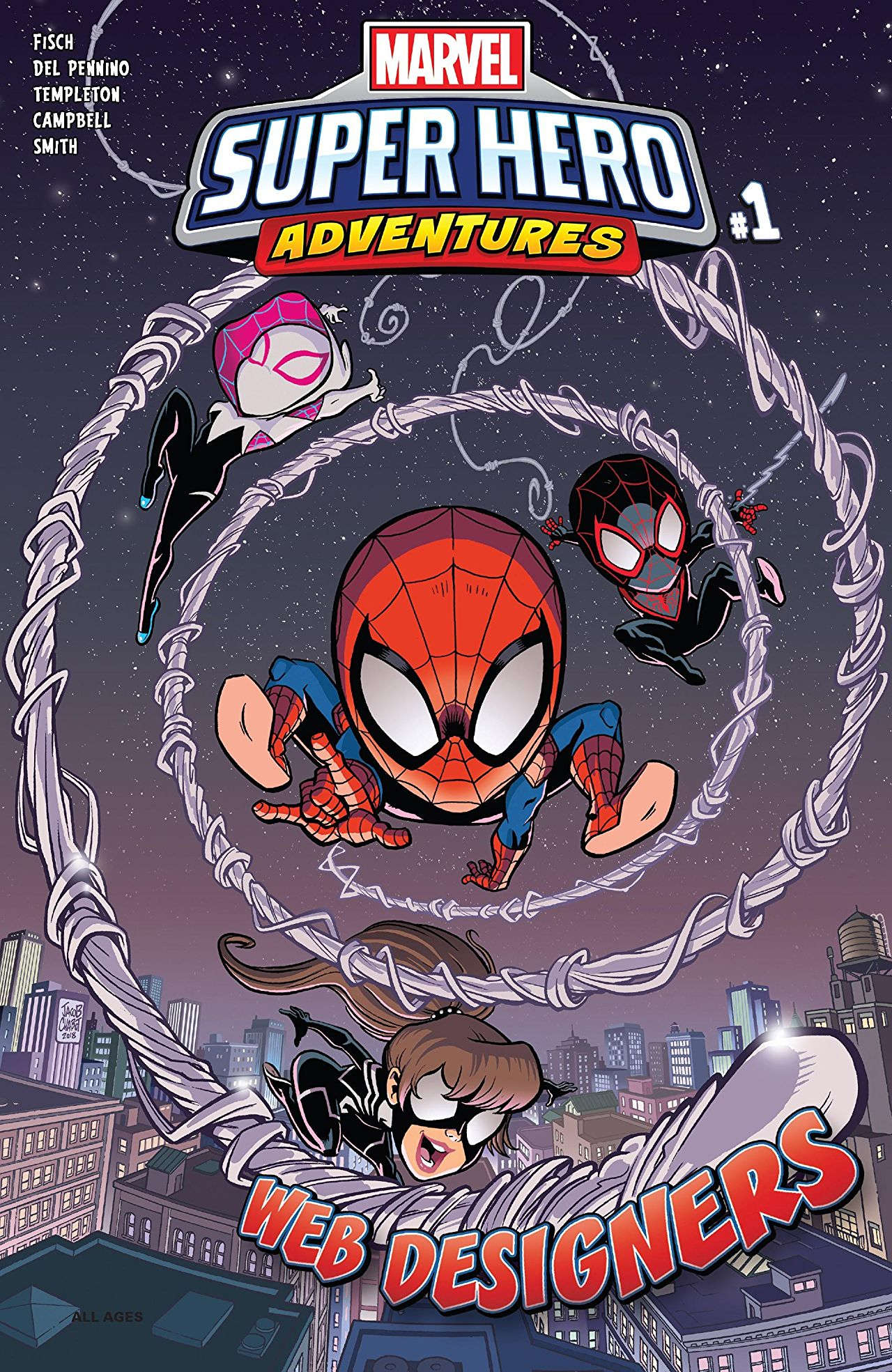Marvel Super Hero Adventures: Spider-Man - Web Designers Vol 1 1