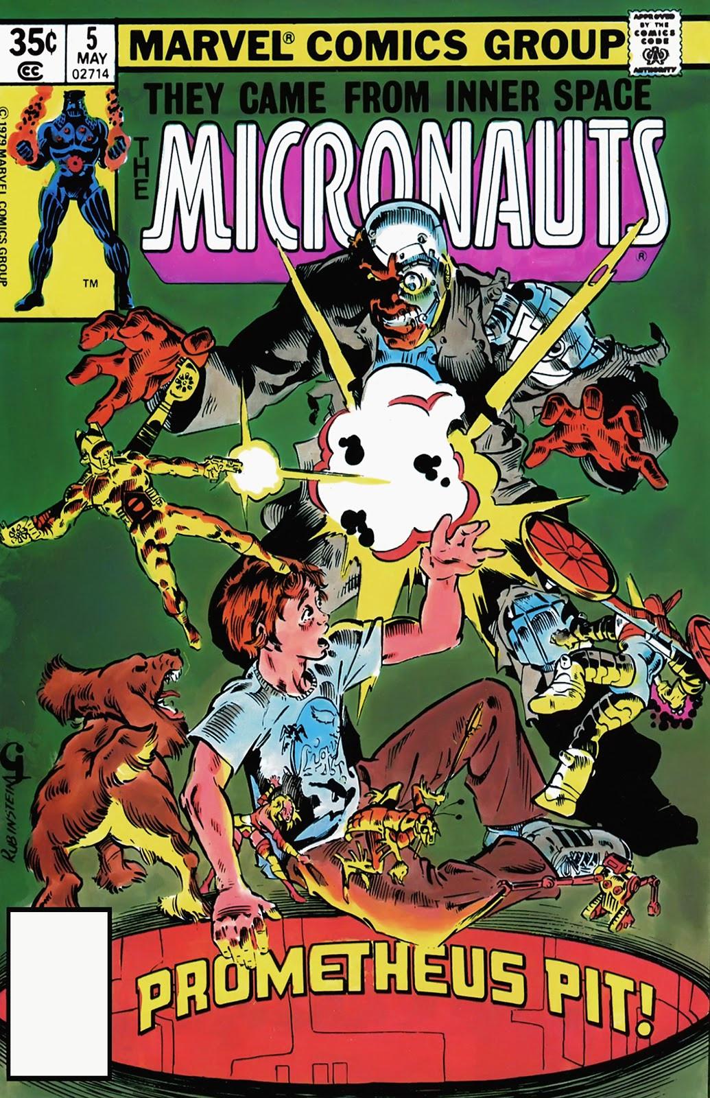 Micronauts Vol 1 5