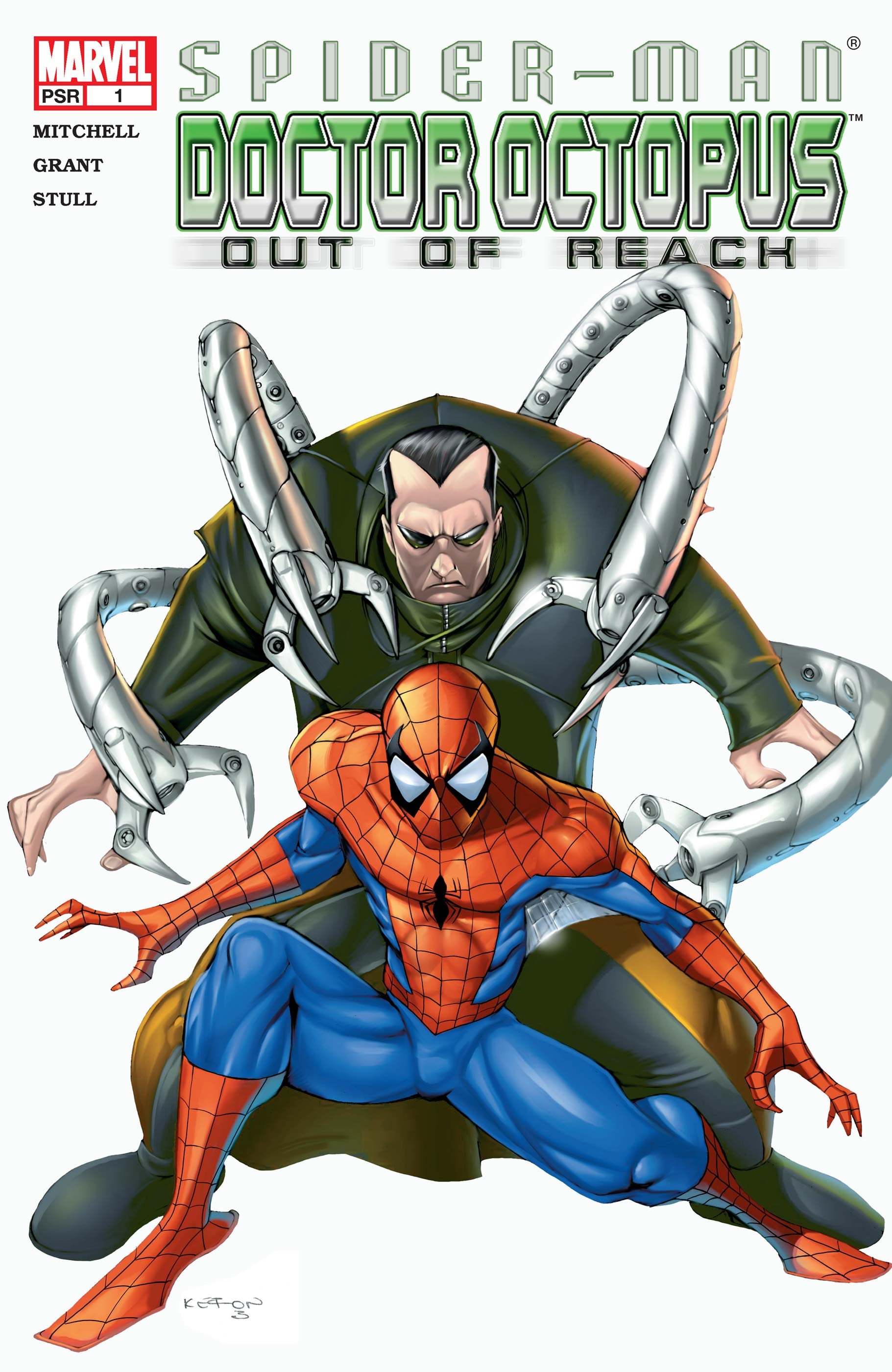 Spider-Man/Doctor Octopus: Out of Reach Vol 1 1