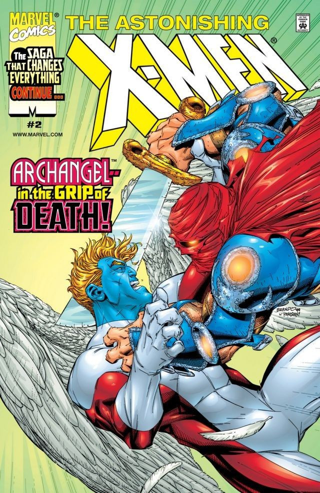 Astonishing X-Men Vol 2 2