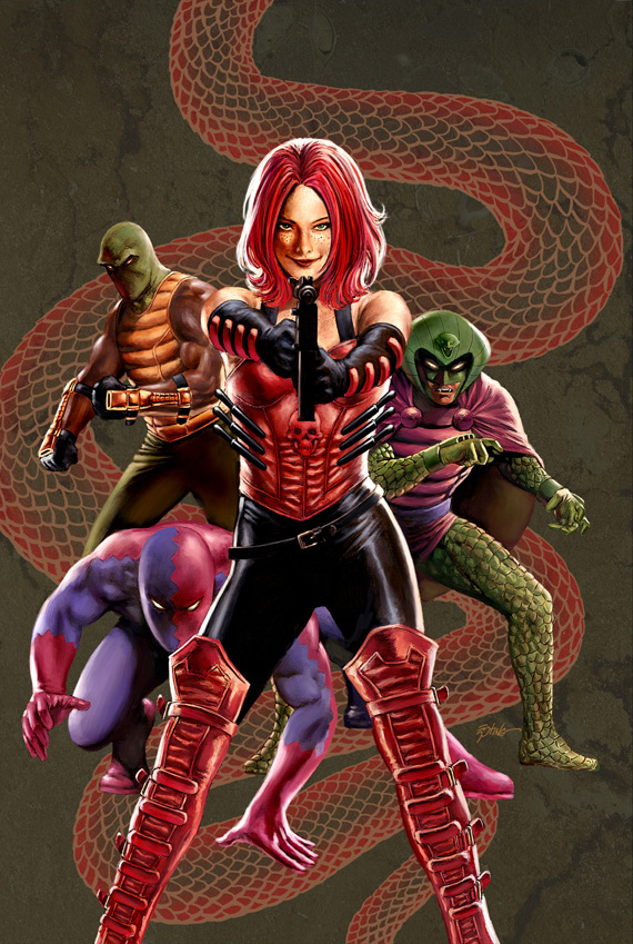 Serpent Squad (Sin's Team) (Earth-616)/Gallery
