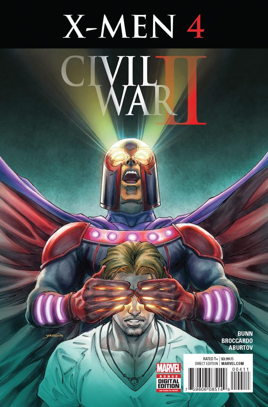 Civil War II: X-Men Vol 1 4
