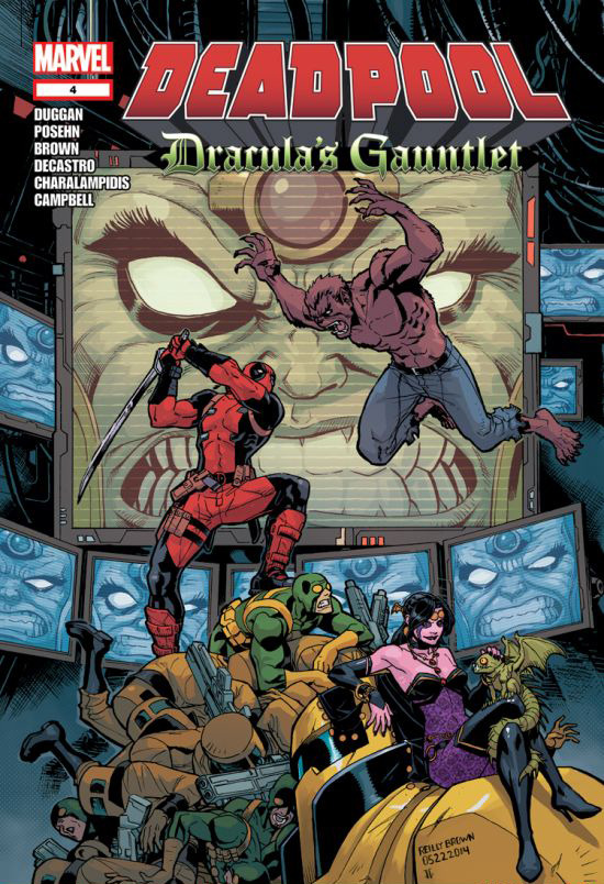 Deadpool: Dracula's Gauntlet Vol 1 4