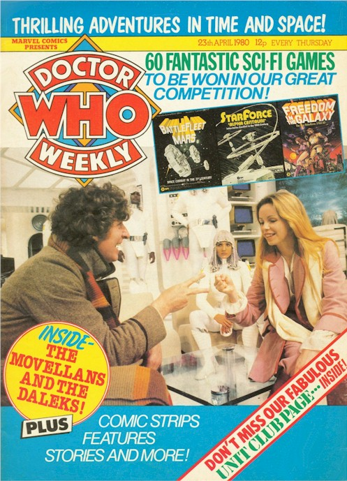 Doctor Who Weekly Vol 1 28