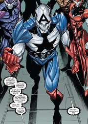 Hive (Poisons) (Earth-17952) Members-Poison Captain America from Venomverse Vol 1 2 001.png