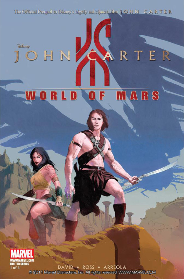 John Carter: World of Mars Vol 1 1