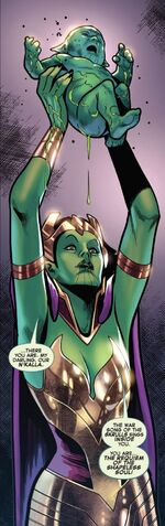 N'kalla (Earth-616) and S'byll (Earth-616) from Fantastic Four Vol 6 21 001.jpg