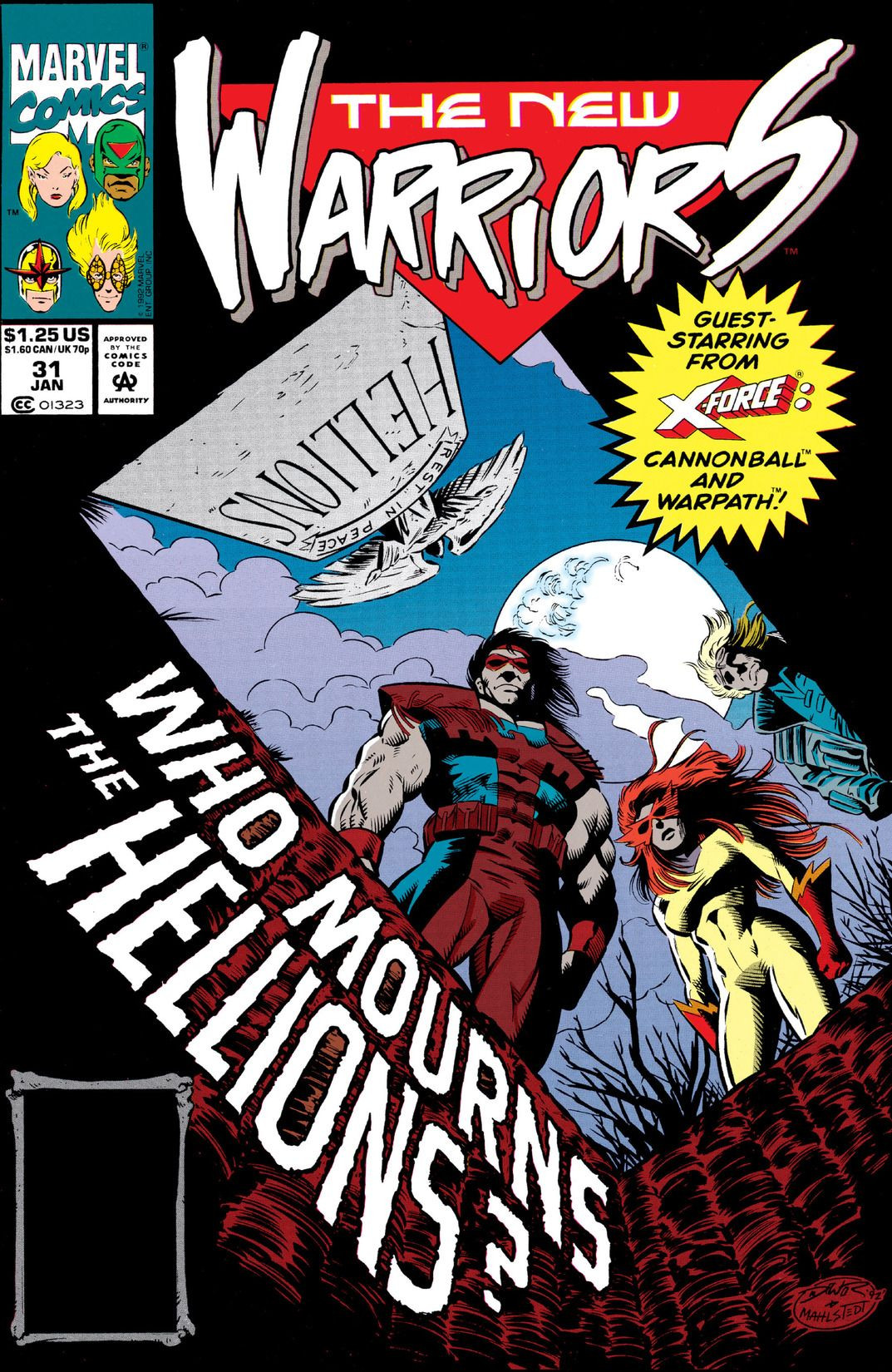 New Warriors Vol 1 31