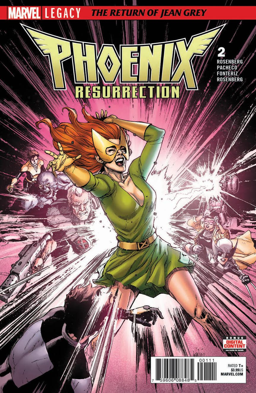 Phoenix Resurrection: The Return of Jean Grey Vol 1 2