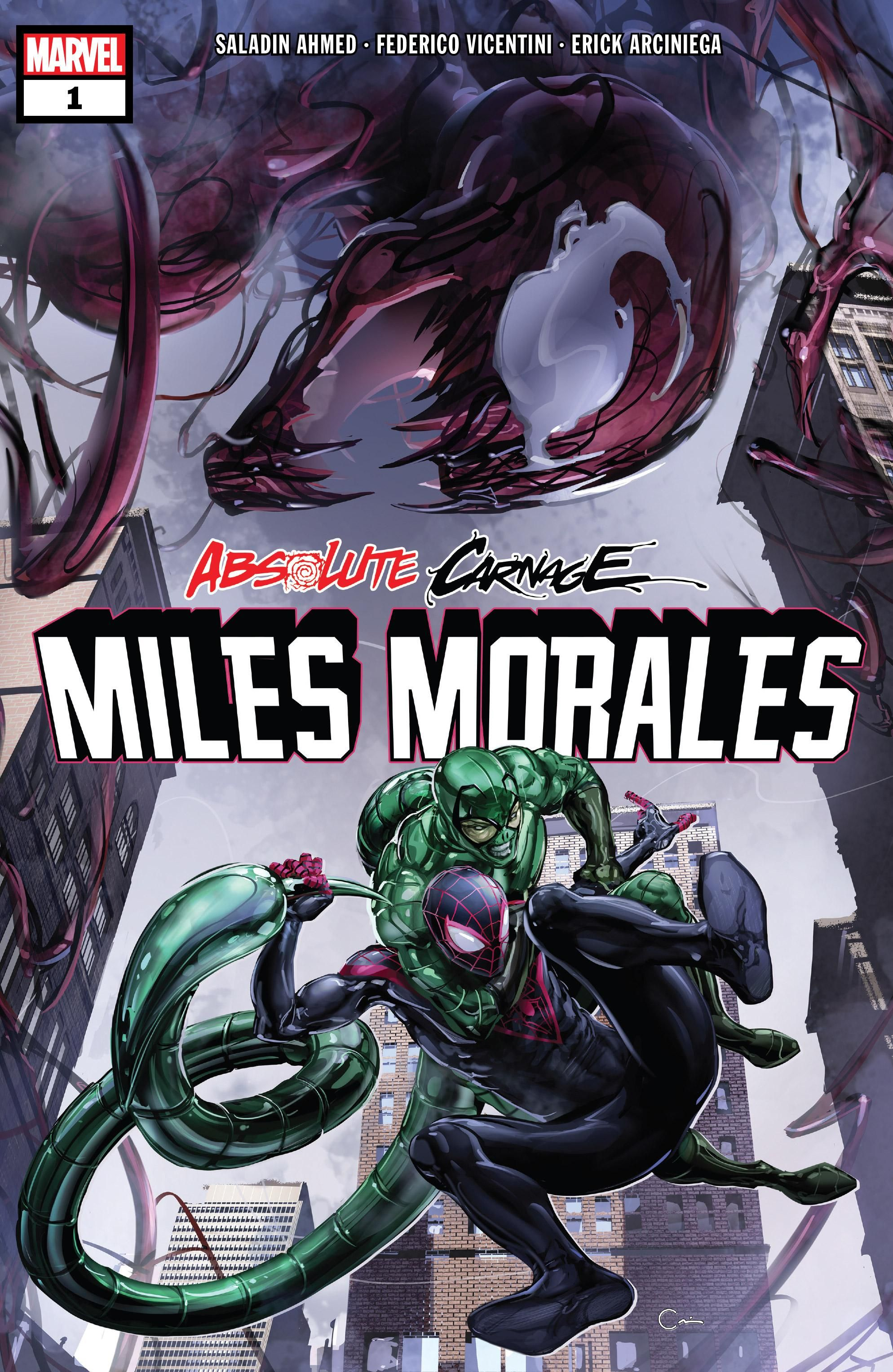 Absolute Carnage: Miles Morales Vol 1 1