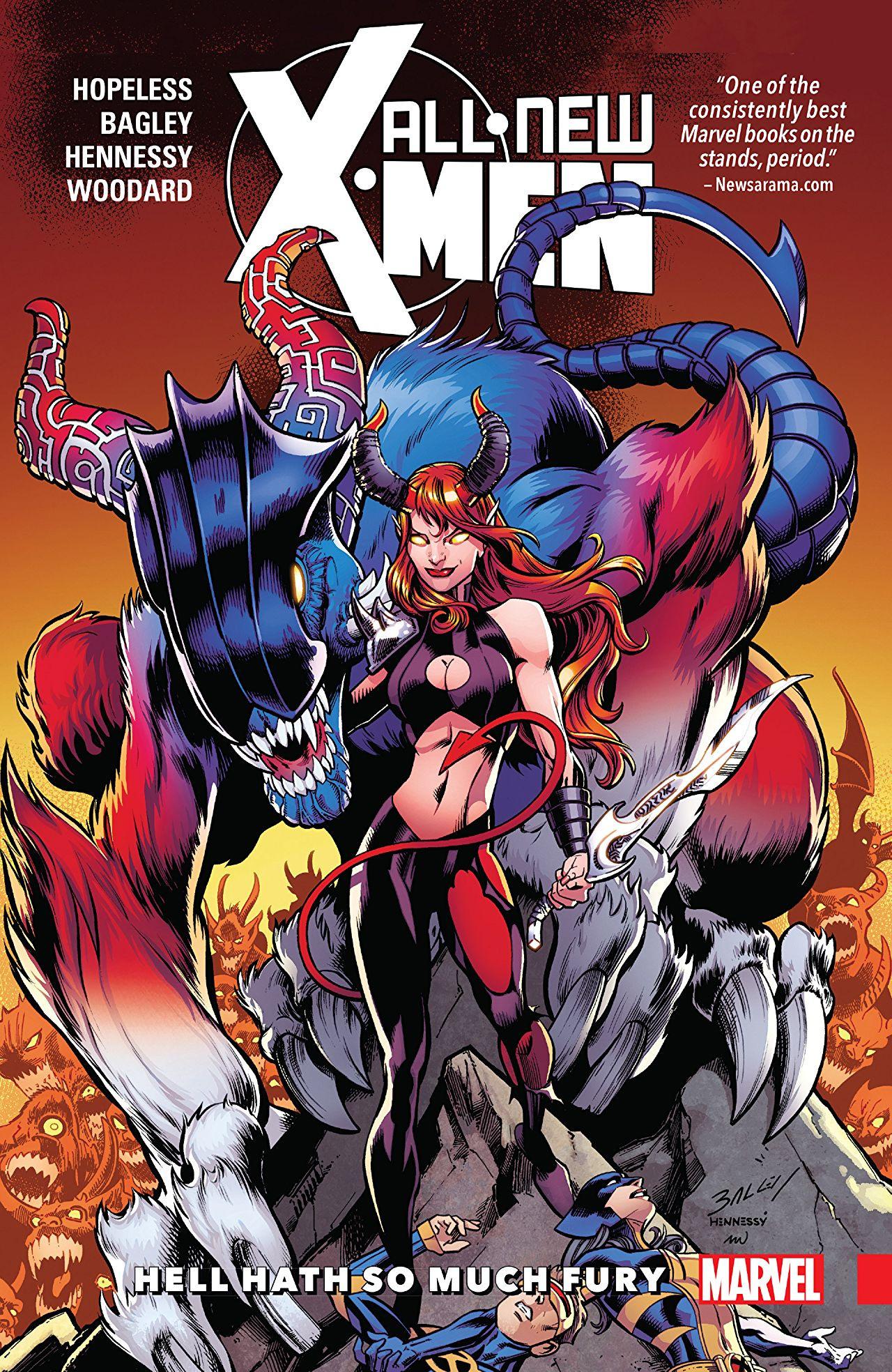 All-New X-Men: Inevitable TPB Vol 1 3: Hell Hath So Much Fury