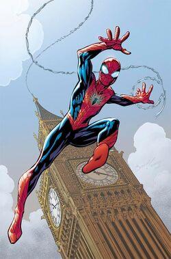 Amazing Spider-Man Vol 4 1 Bagley Variant Textless.jpg