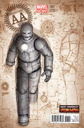 Avengers Arena Vol 1 7 Many Armors of Iron Man Variant