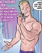 Clinton Barton (Earth-616) from Hawkeye Freefall Vol 1 1 002