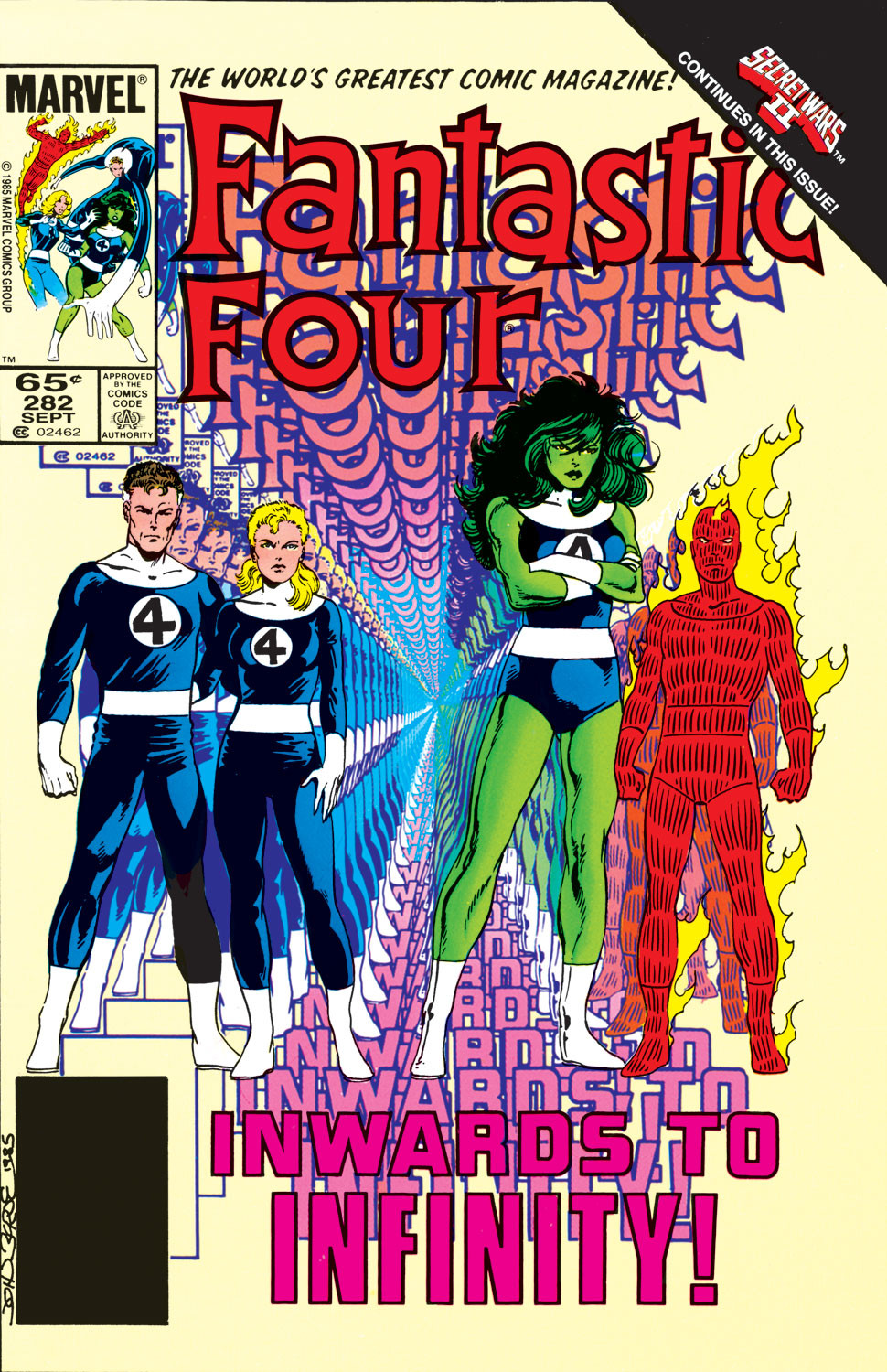 Fantastic Four Vol 1 282