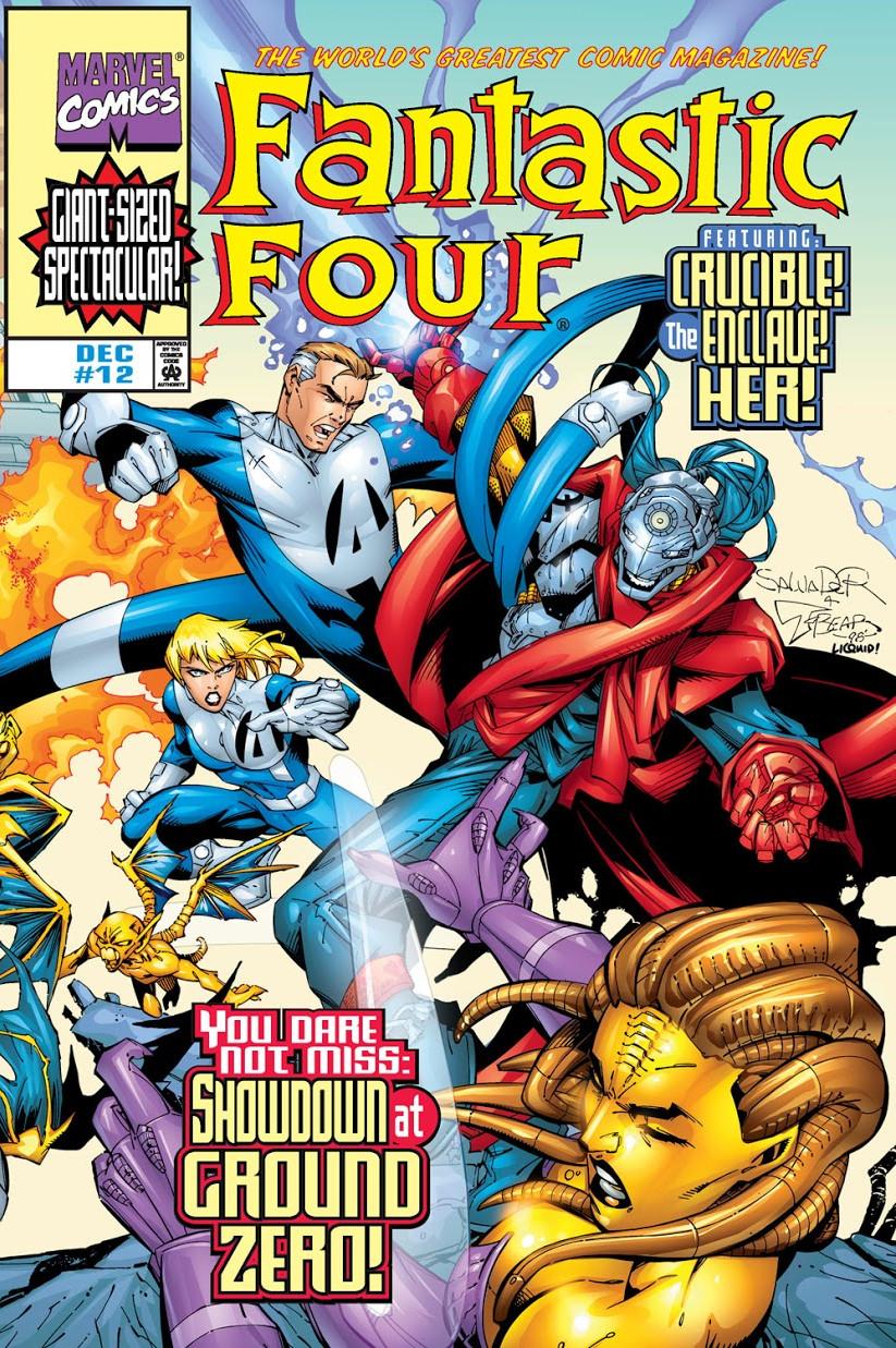 Fantastic Four Vol 3 12