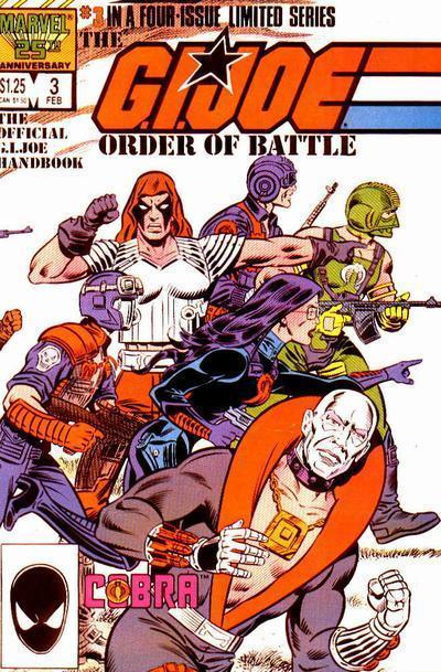 G.I. Joe: Order of Battle Vol 1 3