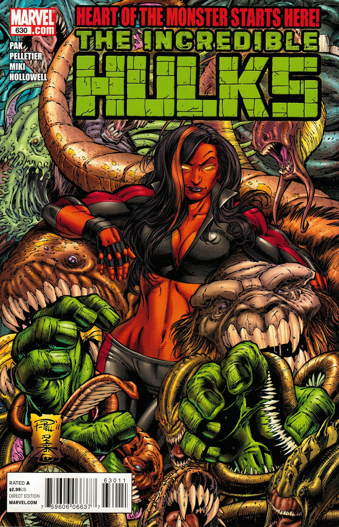 Incredible Hulks Vol 1 630