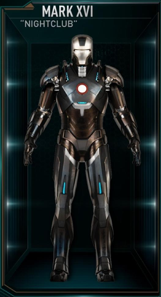 Iron Man Armor MK XVI (Earth-199999)