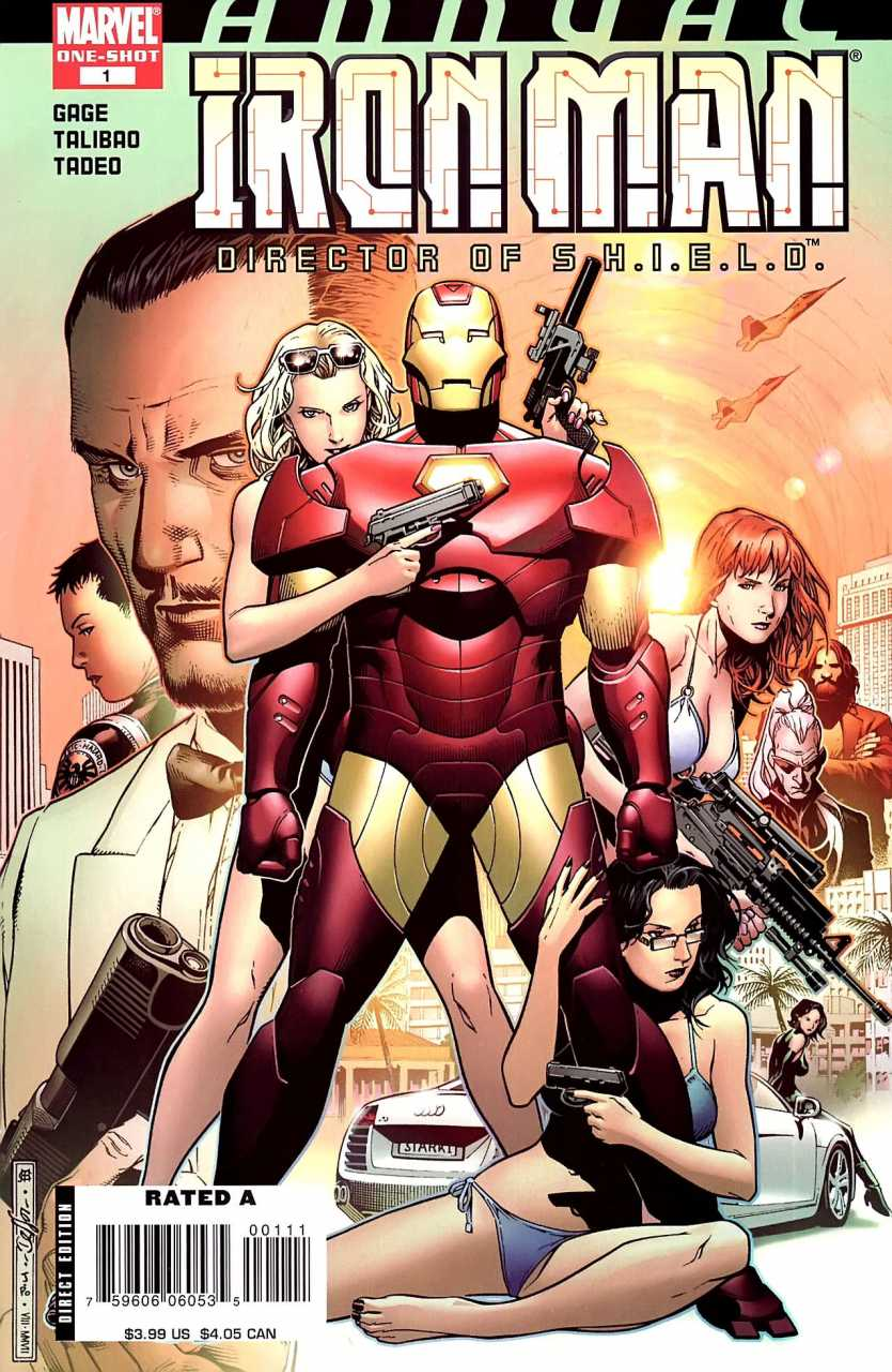 Iron Man: Director of S.H.I.E.L.D. Annual Vol 1 1