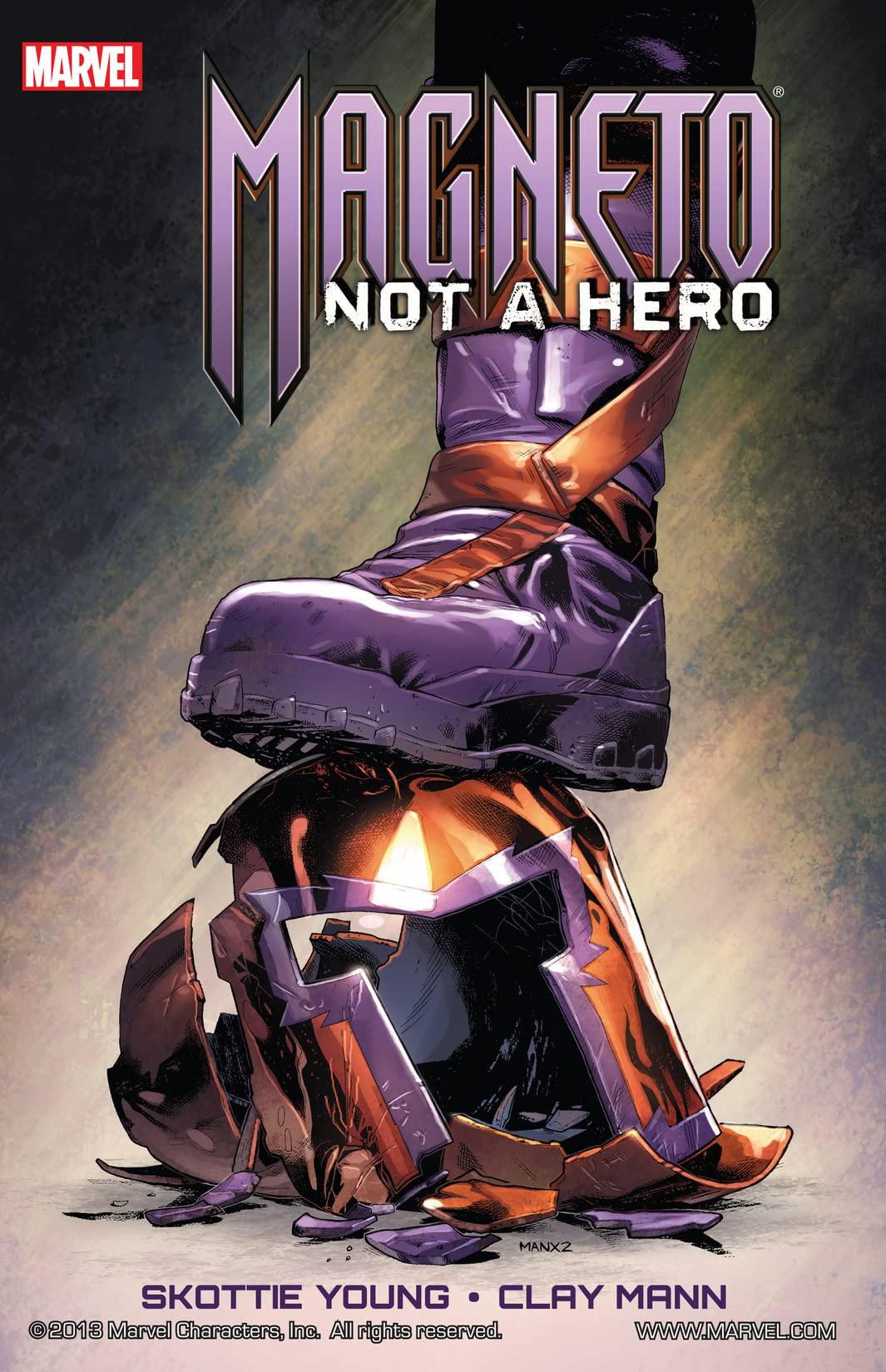 Magneto: Not a Hero TPB Vol 1